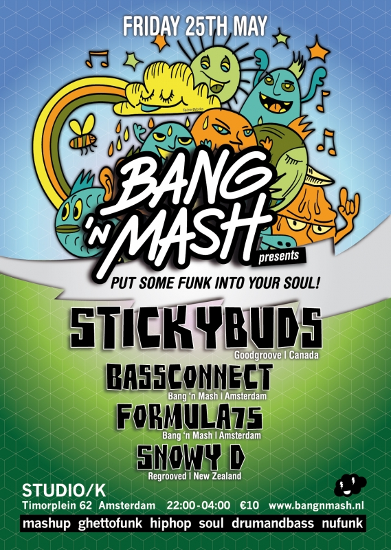 Bang 'n Mash – posters