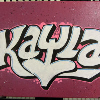 graffiti canvas