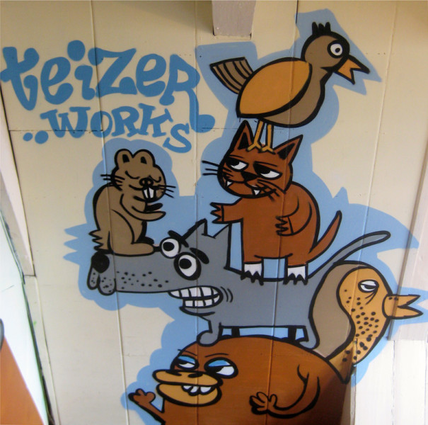 Zolder graffiti