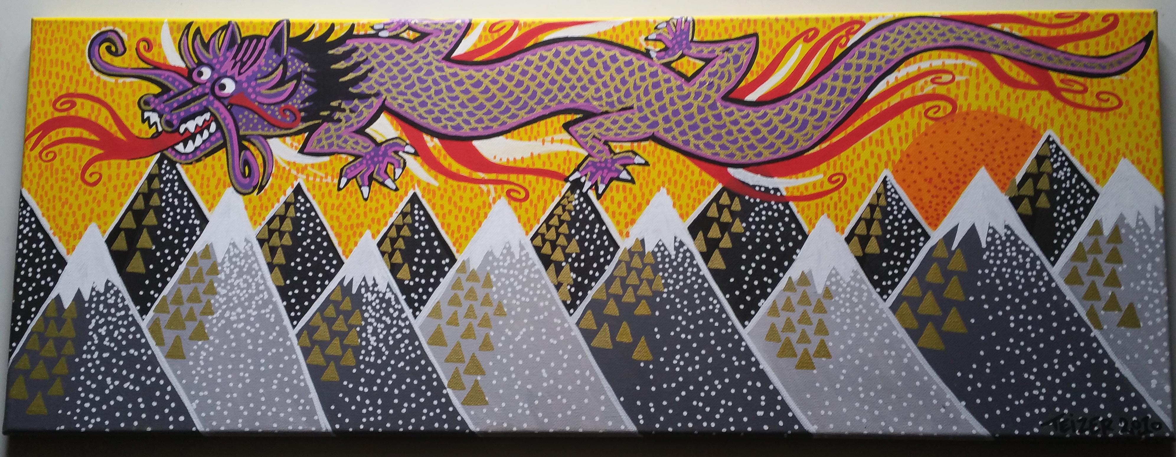 dragon-80x30cm